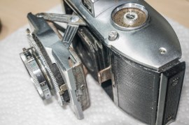 Agfa Karat front stadard disconnected from bellows