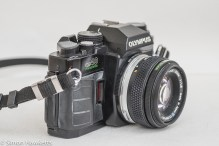 Olympus OM-40 35mm slr - side view
