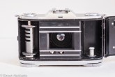 Zeiss Ikon Contina I 35mm viewfinder folding camera - inside the film chamber