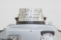 Balda Baldamatic I 35mm rangefinder camera - the synchro compur shutter