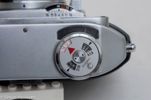 Balda Baldessa 1B 35mm rangefinder camera - light meter