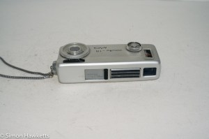 Minolta 16 MG miniature 16mm camera - lens closed