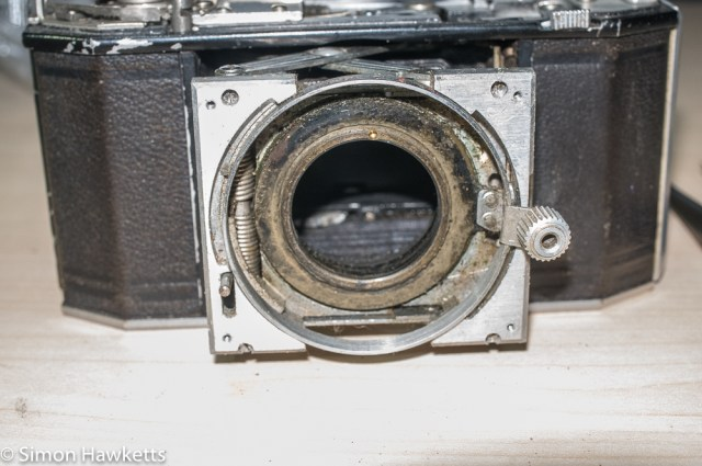 Agfa Karat 12 Compur shutter clean up 7