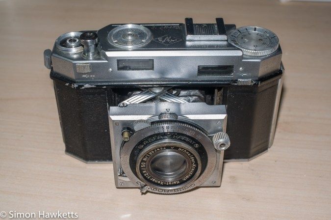 Agfa Karat 12 re-assembly - camera complete