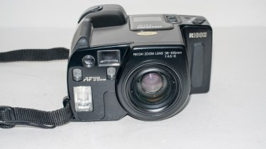 Ricoh Mirai 105 35mm slr camera - Camera with lens cap removed