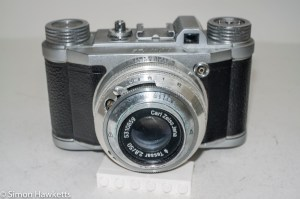 Altissa Altix 35mm viewfinder camera - front view