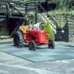 Pentax Z-1P & Agfa CT-100 slide film - Chatsworth house play tractor