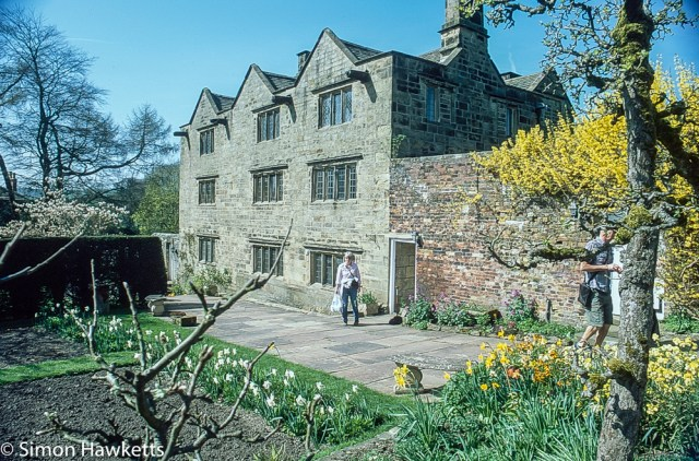 Pentax Z-1P & Agfa CT-100 slide film - Eyam Hall and  gardens