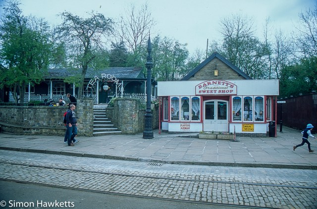 Pentax Z-1P & Agfa CT-100 slide film - Tram museum sweet shop