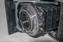 Voigtlander Vito 35mm folding camera - focus, shutter and aperture