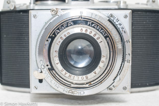 Agfa Karat viewfinder camera with strap lugs 6
