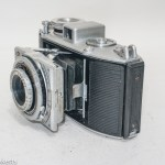 Agfa Karat viewfinder camera with strap lugs