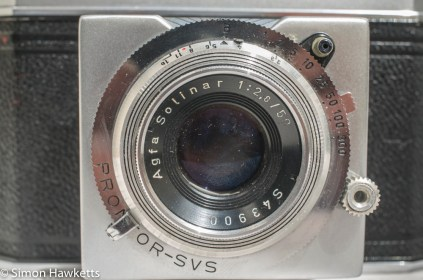 Agfa Karat IV shutter repair - before any work