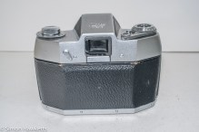 Ihagee Exakta IIa 35mm camera - rear view