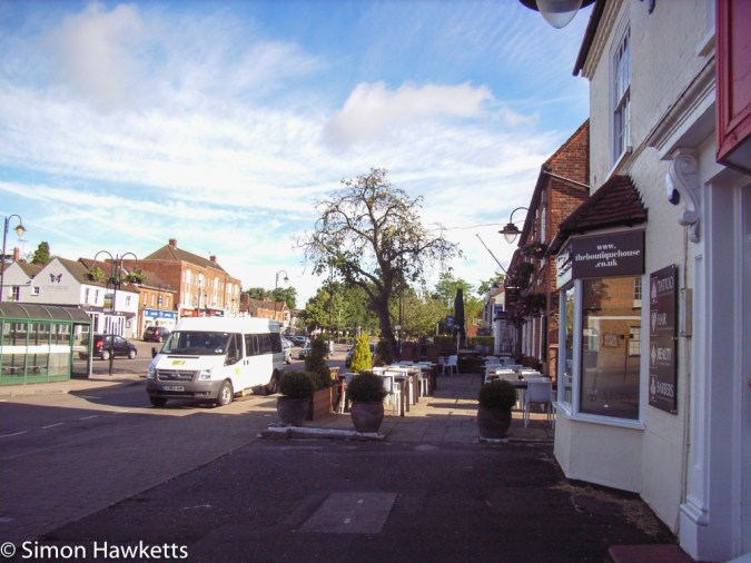Ricoh R1v sample pictures - Stevenage high street