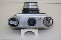Boots Pacemaker CM 35mm viewfinder camera top panel