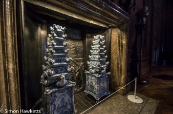 Chatsworth house pictures - fireplace