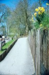Chatsworth house pictures - Path to the adventure playground