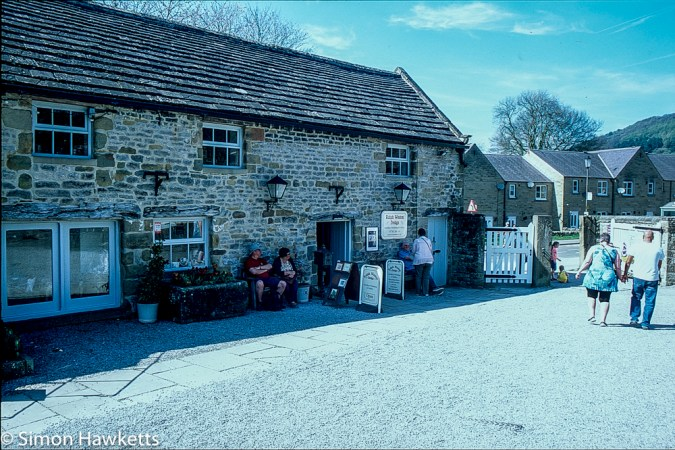 Eyam Hall Pictures - The craft shop