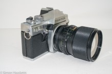 Praktica TL3 35mm camera - side view showing metering and shutter