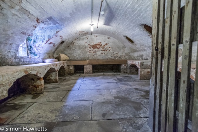 Fuji X-T1 and Samyang 12mm Southwell Workhouse pictures - One of the basement rooms