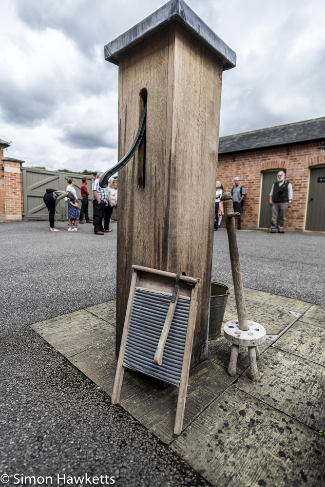 Fuji X-T1 and Samyang 12mm Southwell Workhouse pictures - The water pump in the yard