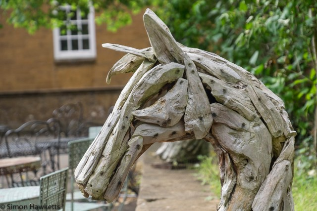 Upton House Fuji X-T1 Pictures - Wooden horse