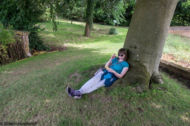 Upton House Fuji X-T1 Pictures - Emma has had enough