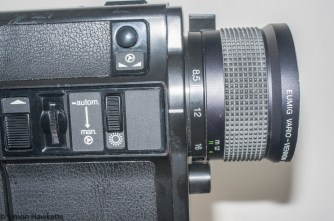 Eumig Sound 31 XL cine camera - Focal length setting (zoom)