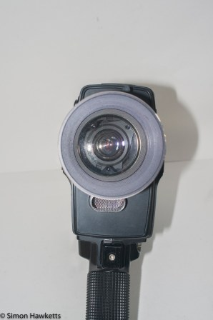 Eumig Sound 31 XL cine camera - front view