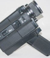 Eumig Sound 31 XL cine camera - side view showing film compartment