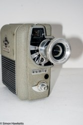 Eumig Electric 8 Cine Camera - Camera with add on lens fitted