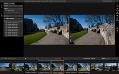 ON1 Photo Raw Simple Photo compare mode