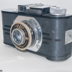 Argus A2F Art Deco, viewfinder camera