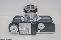 Argus A2F Viewfinder Camera - Lens unit extended