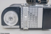 Argus A2F Viewfinder Camera - Extinction meter