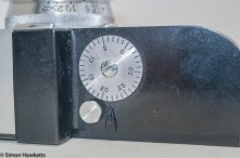Argus A2F Viewfinder Camera - Frame counter