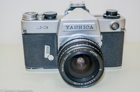 Yashica J-3 35mm slr camera - Yashica J-3 fitted with Lydith lens