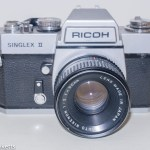 Ricoh Singlex II 35mm slr camera