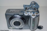 Canon PowerShot A40 - Battery compartment