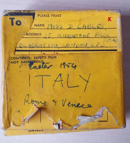 8mm Home Movies - Rome & Venice Easter 1954