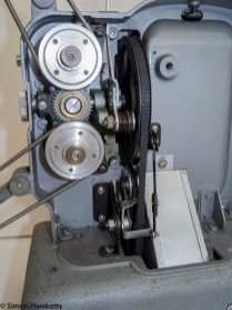 Elmo E-80 8mm projector - Clutch disengaged from drive