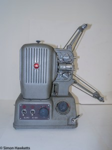 Elmo E-80 8mm projector - Arms extended
