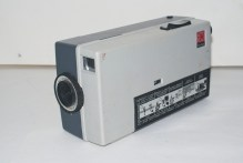 Kodak Instamatic M2 cine camera - Front lens and aperture