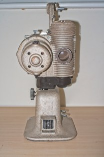 Bell & Howell 606H projector : Back of projector