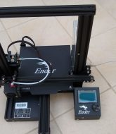 Ender 3 Pro 3D printer assembled
