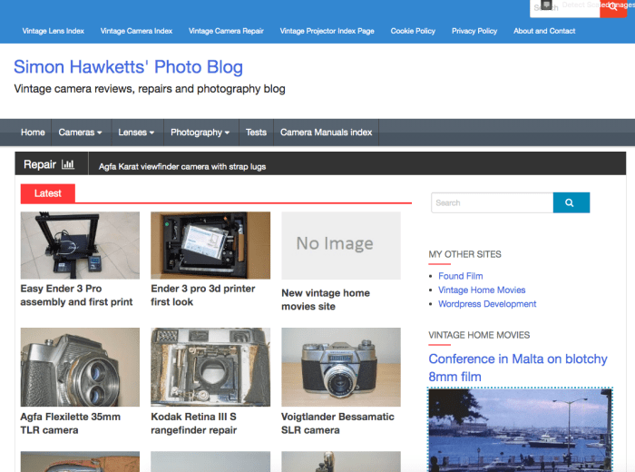 Big changes coming to Photoblog starting with the layout