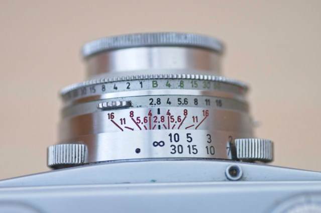 The beautiful Arette 1C rangefinder from the 1950s 5