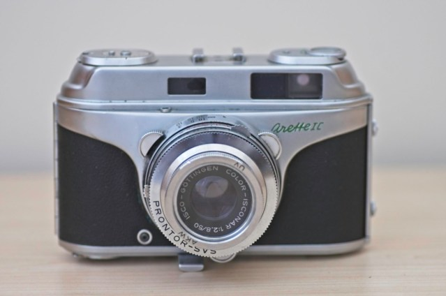 The beautiful Arette 1C rangefinder from the 1950s 1
