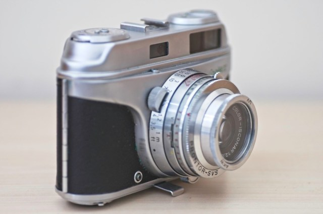 The beautiful Arette 1C rangefinder from the 1950s 3